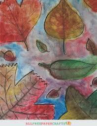 thanksgiving quiz printable free printable fall leaf art allfreepapercrafts com