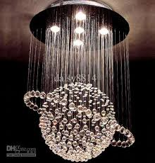 Sphere Chandelier With Crystals Sales Modern Style Chandelier Led Lights Dia500
