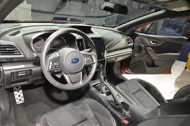 subaru car interior 2017 subaru impreza named japan car of the year 2017 toyota prius