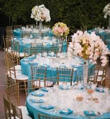 wedding reception tables 5 colored wedding decoration ideas yeahmag