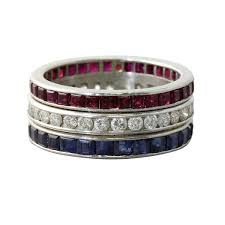ruby eternity ring company ruby sapphire and diamond eternity ring