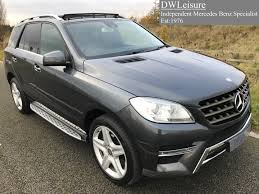 mercedes benz jeep 2014 used mercedes benz m class 2014 for sale motors co uk