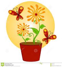 butterfly flower clip art u2013 101 clip art