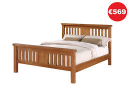 4ft Wooden Bed Frame Carlow 4ft 6in Wooden Bed Frame The Bed Store