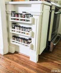 easy built in spice rack bekvam ikea hack hometalk