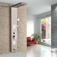 Bathroom Shower Panels Types Best Quality Bathroom Shower Panel With Shower