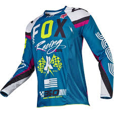 mx motocross gear dirtbikebitz 2017 fox 360 rohr mx motocross jersey teal 2017
