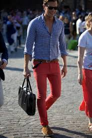 your guide on how to wear red trousers the idle man