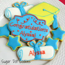 graduation cookies custom sugar cookies decorated with royal icing school kids