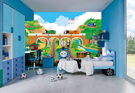 thomas the tank engine wall murals