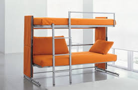 A Convertible Sofa Bed Taken To New Heights - Hideaway bunk beds