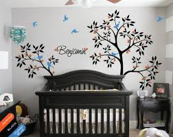 Personalized Wall Decals For Nursery Personalized Tree Wall Decal Mural Sticker Trees Blossom Nursery