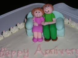 anniversary cake 42nd anniversary cake cakecentral
