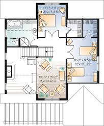 mezzanine floor plan house house plan chp 32672 at coolhouseplans com
