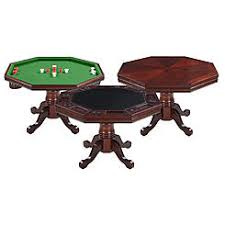 hathaway triad 48 inch 3 in 1 multi game table 3 in 1 wooden game table combination game tables