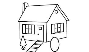 house drawings easy house drawings house drawing easy treehouse drawings