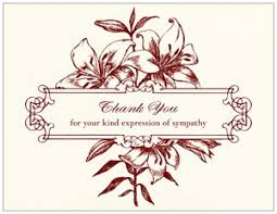 thank you for sympathy card thank you sympathy cards vistaprint
