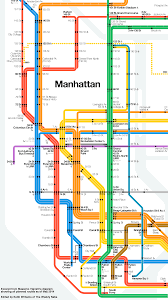 Subway Map by The Vignelli Subway Map Of The Future The Weekly Nabe