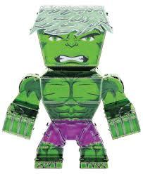 fascinations metal earth legends avengers incredible hulk