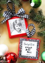 list photo ornament tutorial diy ornament idea