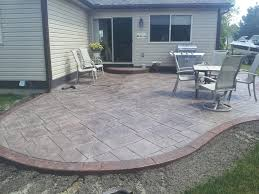 How Much Should A Patio Cost 100 How Much Does A Concrete Patio Cost To Stain Unbelievable