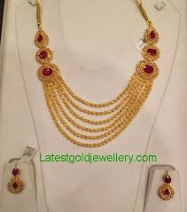 jewelry designs necklace sets images Uncut diamond necklace set latest gold jewellery designs jpg