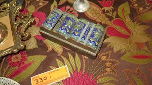 single stem vases misc lot bas relief silver jewel box mirrors ornamental wall