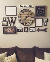 living room decorating walls 27 rustic wall decor ideas to turn
