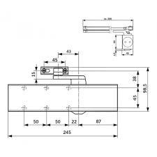 Dorma Overhead Door Closer Dorma Ts83se Size 3 6 Overhead Door Closer Lockmonster Co Uk