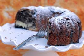 night baking buttercake bakery u0027s chocolate chip marble bundt cake