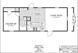 one bedroom home plans stylish plain 1 bedroom mobile homes floor plans palm harbors