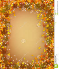 thanksgiving fall autumn border stock illustration image 4091061