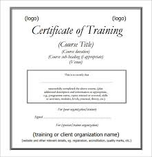 training certificate template doc fee schedule template