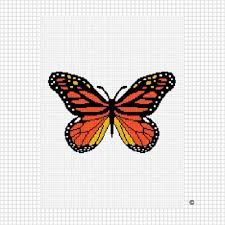 monarch butterfly crochet afghan pattern emailed pdf