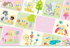 baby looney tunes personalized book put