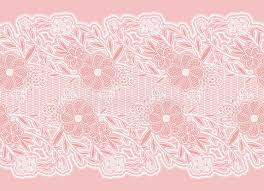 wide lace ribbon seamless wide lace ribbon white delicate flowers on a pink