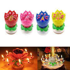 spinning birthday candle lotus flower birthday cake candle image inspiration of cake and