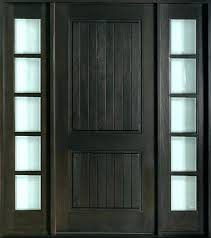 Exterior Entry Doors With Glass Exterior Glass Front Doors Glnce Stained Glass Wood Front Door