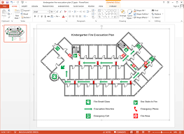 how to create a floor plan in powerpoint create evacuation plan for ppt