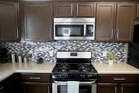 brown cabinets kitchen remodelaholic sleek dark chocolate painted cabinets