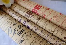 kraft christmas wrapping paper gift wrapping paper restoring ancient ways kraft paper 75 x52 cm