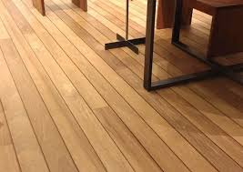 laying tongue groove hardwood decking or siding as interior floor