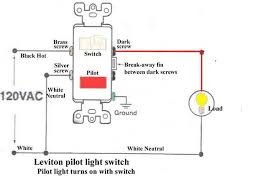 how to wire a switch with a pilot light electrical diy chatroom