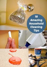 cleaning tips 18 amazing household cleaning tips diy candy