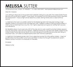 federal job cover letter sample cover letter for federal job free