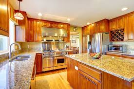 oak cabinets with granite luxury kitchen ideas counters collection with incredible oak