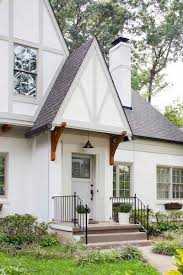 image result for tudor white dark window trim exterior paint