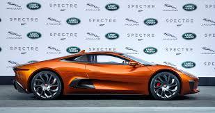 land rover spectre 2015 frankfurt iaa jaguar land rover reveal 007 spectre star