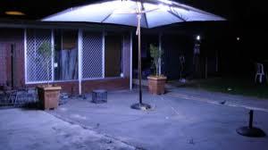 5 Patio Umbrella Adorable Patio Umbrella With Led Lights Outdoor Brilliant Intended