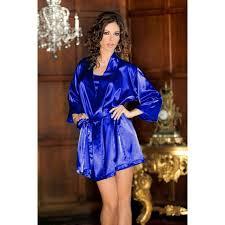 robe de chambre en satin robe de chambre satin bleue robes élégantes pour 2018